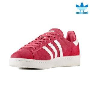 Le adidas basso scarpe red campus striscia by9847 sz 9 poshmark